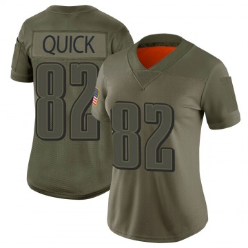 Women's Mike Quick Philadelphia Eagles Nike Limited 2019 Salute to Service Jersey - Camo