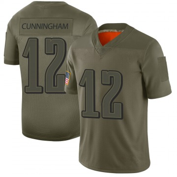 Youth Randall Cunningham Philadelphia Eagles Nike Limited 2019 Salute to Service Jersey - Camo